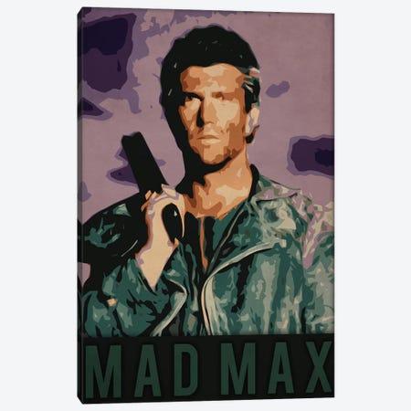 Mad Max Canvas Print #DUR223} by Durro Art Art Print