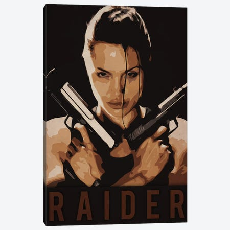 Raider Canvas Print #DUR224} by Durro Art Canvas Wall Art