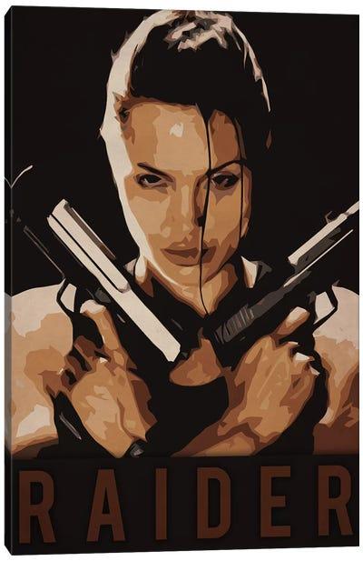 Raider Canvas Art Print