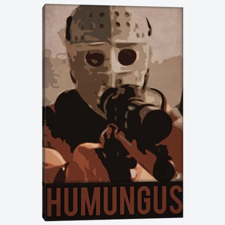 Humungus Road Warrior Canvas Print #DUR225} by Durro Art Canvas Art