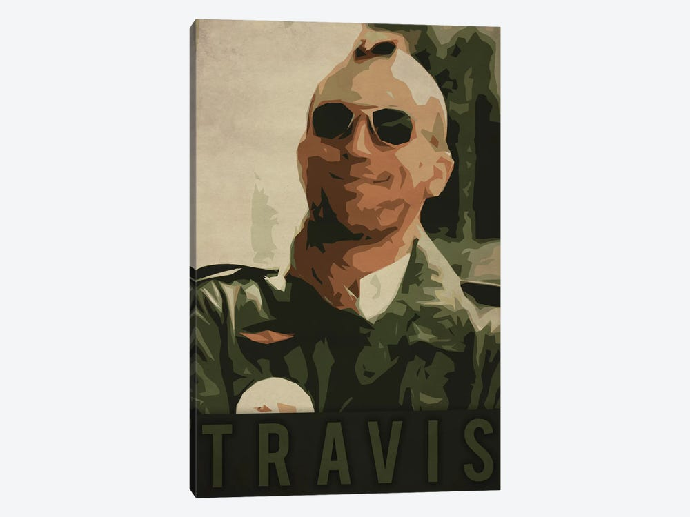 Travis by Durro Art 1-piece Art Print