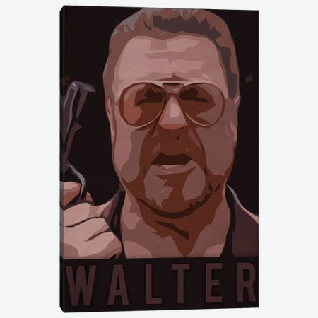Walter Canvas Print #DUR230} by Durro Art Canvas Artwork