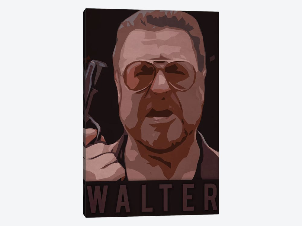 Walter by Durro Art 1-piece Canvas Wall Art