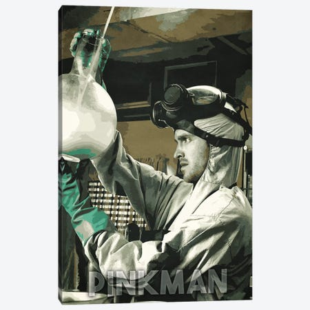 Jesse Pinkman Canvas Print #DUR232} by Durro Art Canvas Wall Art