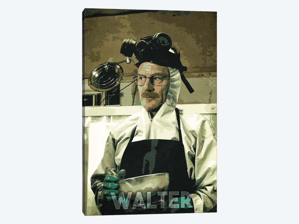 Walter White 1-piece Canvas Print