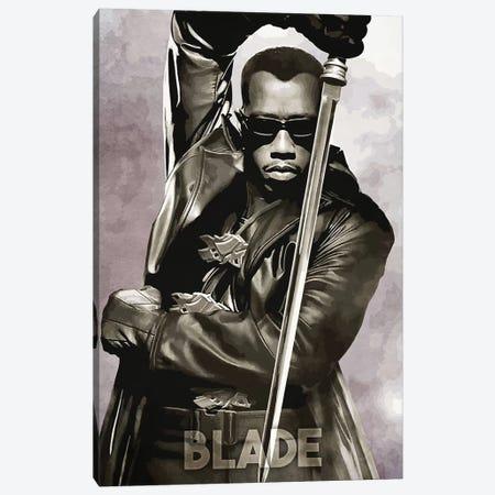 Blade Canvas Print #DUR236} by Durro Art Art Print