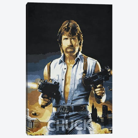 Chuck Canvas Print #DUR239} by Durro Art Canvas Art