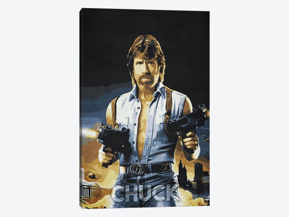 Chuck by Durro Art 1-piece Art Print