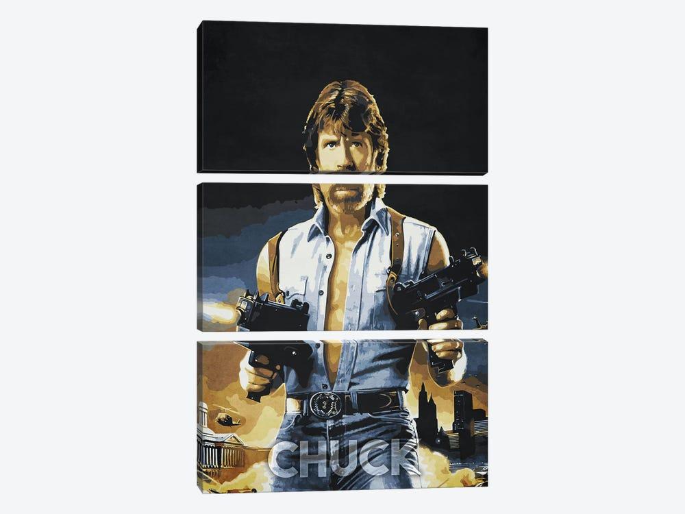 Chuck by Durro Art 3-piece Art Print