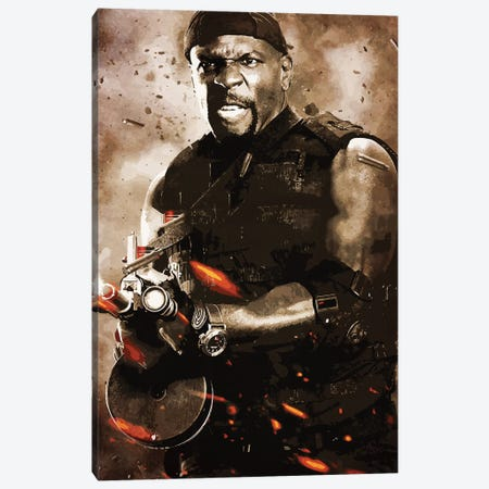 Expendables Crews Canvas Print #DUR245} by Durro Art Canvas Wall Art