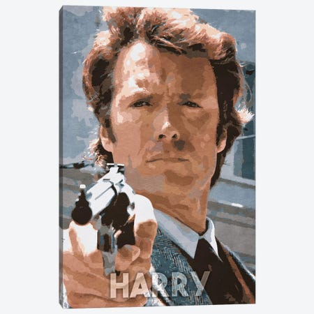 Harry Canvas Print #DUR248} by Durro Art Canvas Art Print