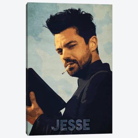 Jesse Canvas Print #DUR251} by Durro Art Canvas Artwork