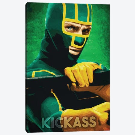 Kickass Canvas Print #DUR254} by Durro Art Canvas Print
