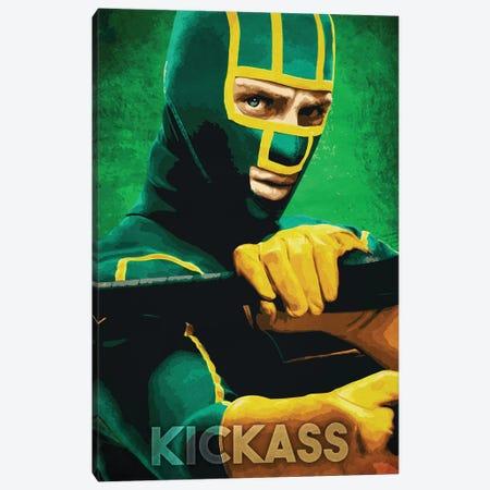 Kickass Canvas Print #DUR254} by Durro Art Canvas Print