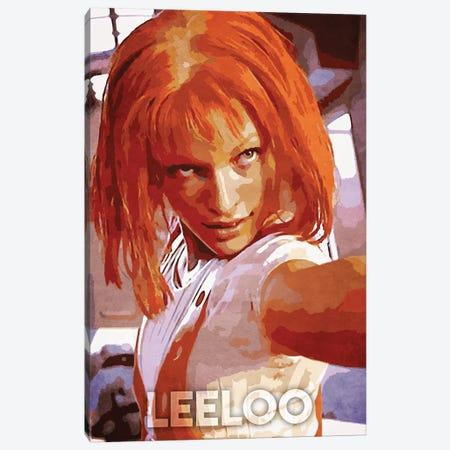 Leeloo Canvas Print #DUR255} by Durro Art Canvas Print