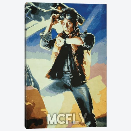 Mcfly Canvas Print #DUR258} by Durro Art Canvas Art