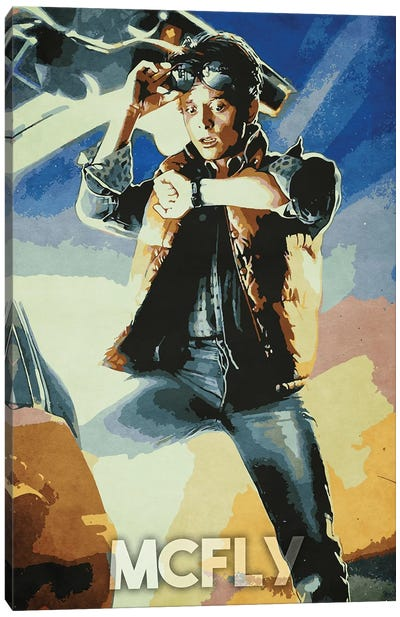 Mcfly Canvas Art Print