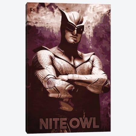 Nite Owl Canvas Print #DUR260} by Durro Art Canvas Print