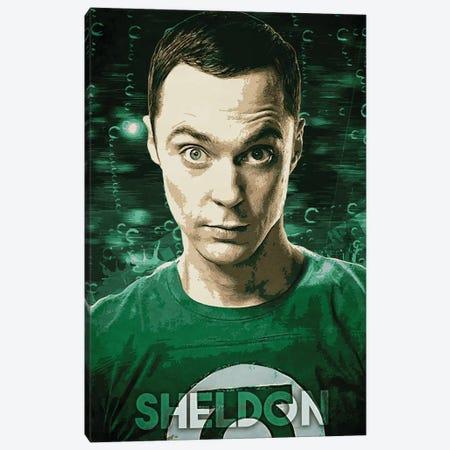 Sheldon Canvas Print #DUR266} by Durro Art Canvas Artwork