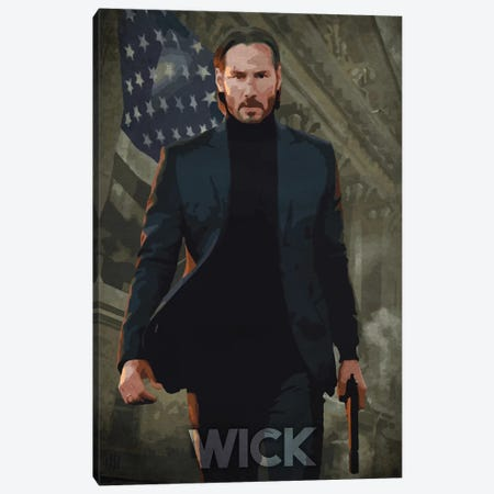 Wick Canvas Print #DUR270} by Durro Art Canvas Art