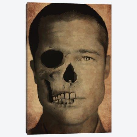 Brad Pitt Canvas Print #DUR271} by Durro Art Canvas Wall Art