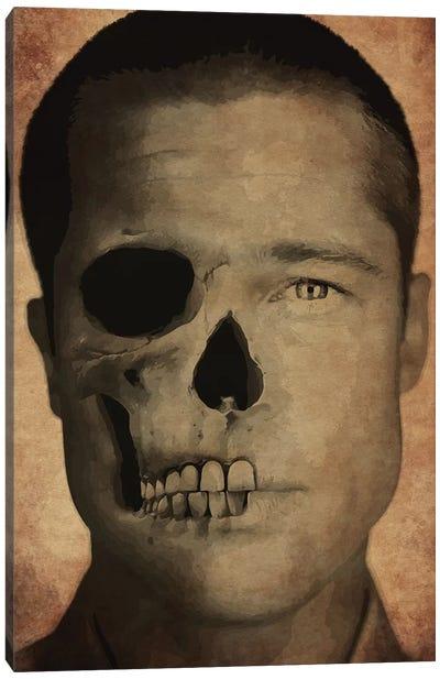 Brad Pitt Canvas Art Print