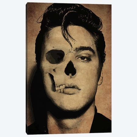 Elvis Canvas Print #DUR272} by Durro Art Canvas Wall Art