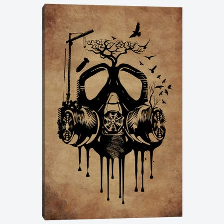 Atomic Dream Vintage Canvas Print #DUR27} by Durro Art Art Print