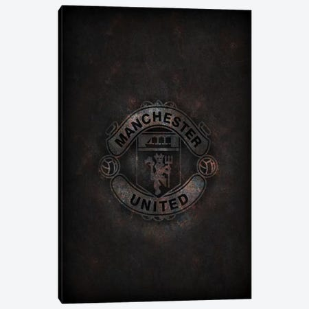 Manchester United Canvas Print #DUR286} by Durro Art Canvas Wall Art