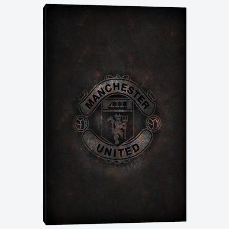 Manchester United Canvas Print #DUR286} by Durro Art Canvas Wall Art