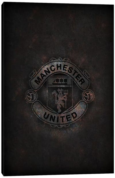 Manchester United Canvas Art Print