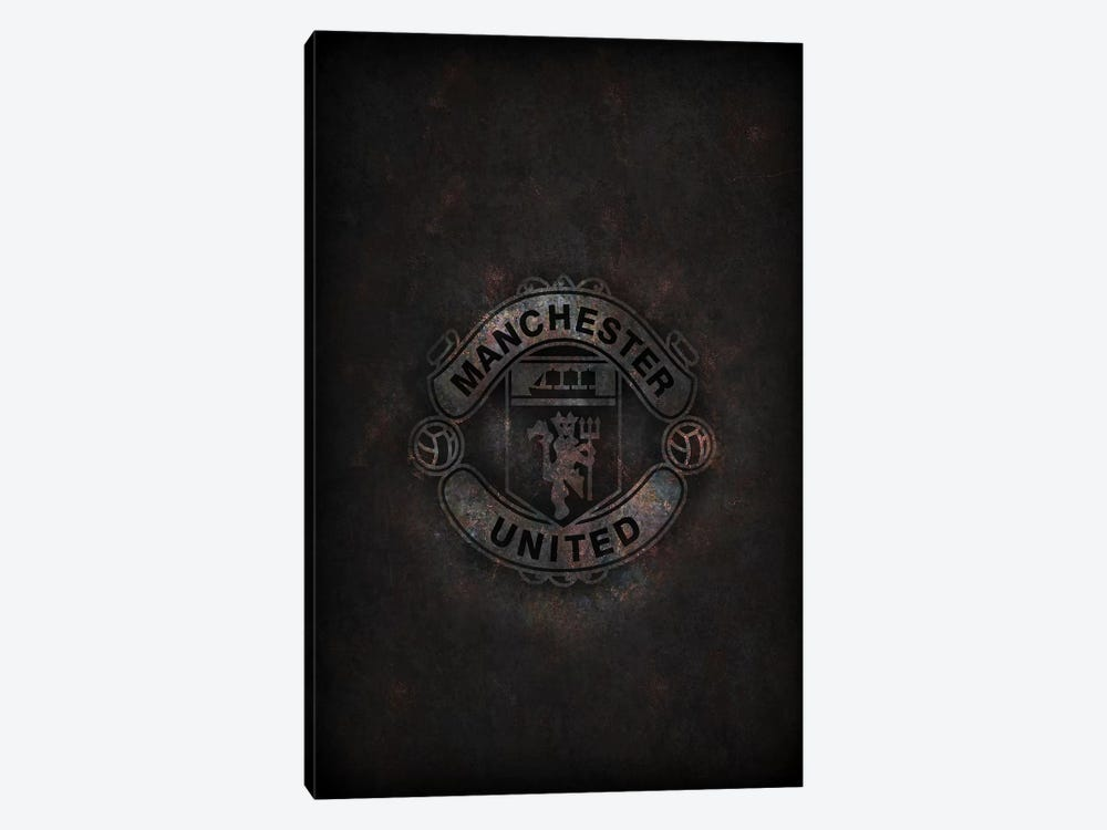 Manchester United by Durro Art 1-piece Canvas Art Print