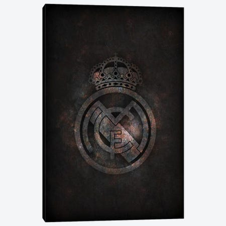 Real Madrid Canvas Print #DUR289} by Durro Art Canvas Art Print