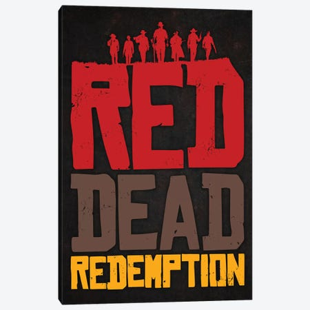 Red Dead Canvas Print #DUR295} by Durro Art Canvas Art Print