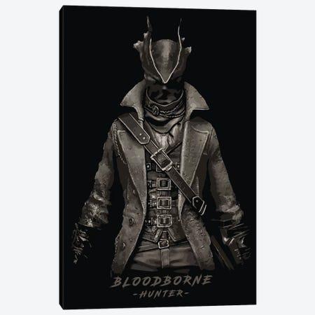 Bloodborne Hunter Canvas Print #DUR299} by Durro Art Canvas Art