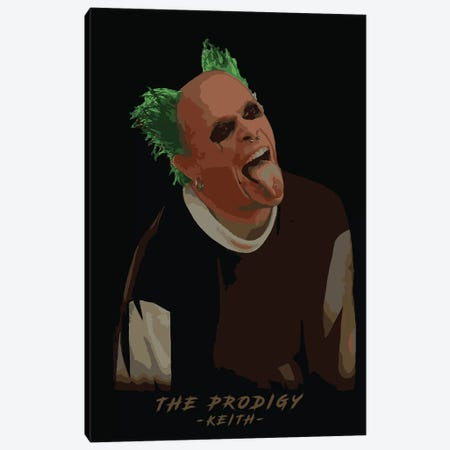 The Prodigy Keith Canvas Print #DUR307} by Durro Art Canvas Print