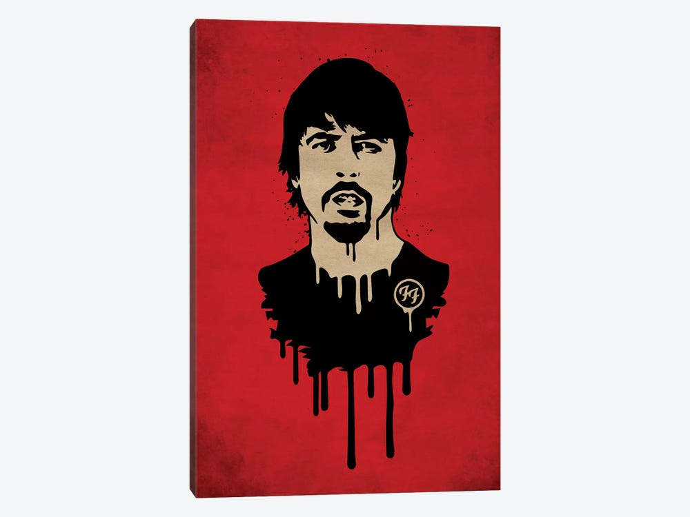 Foo Fighter by Durro Art 1-piece Canvas Art