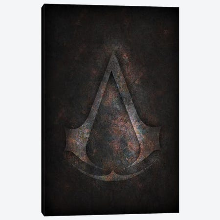 Assassins Creed Canvas Print #DUR311} by Durro Art Canvas Print