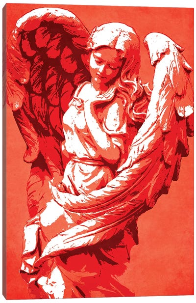 Guardian Angel Canvas Art Print