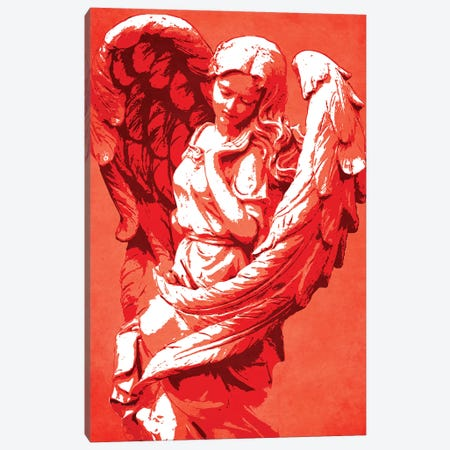 Guardian Angel Canvas Print #DUR31} by Durro Art Art Print