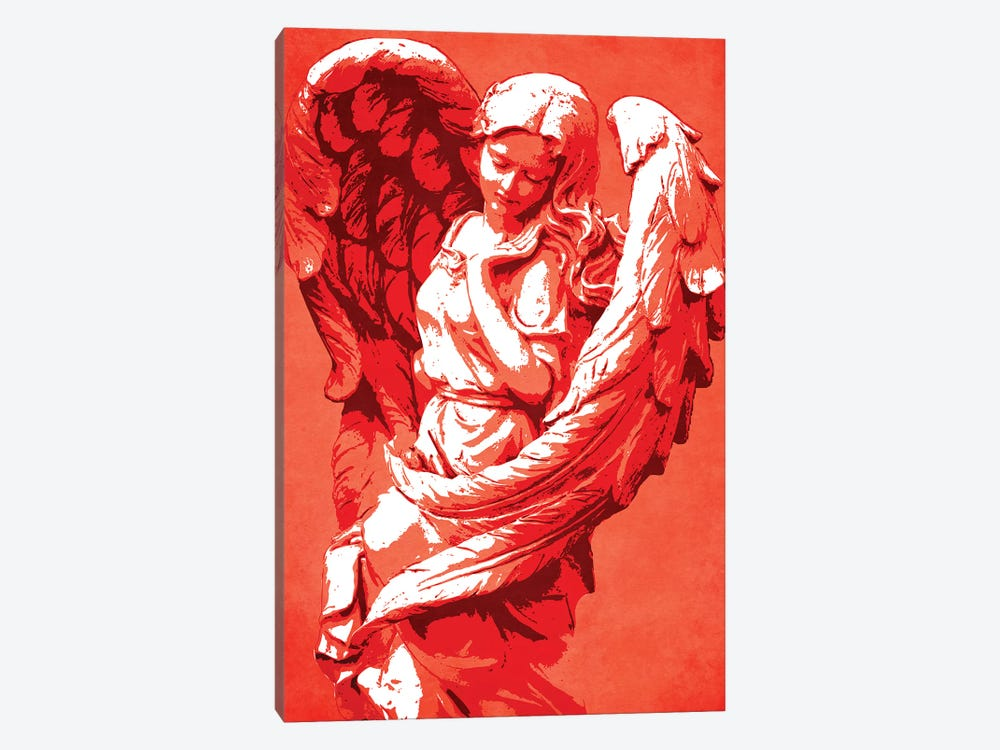 Guardian Angel by Durro Art 1-piece Canvas Print