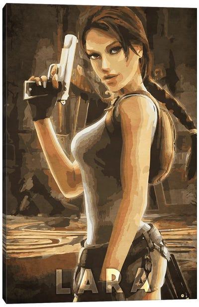 Lara Tomb Raider Canvas Art Print
