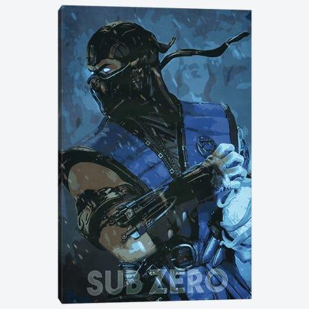 Sub Zero Canvas Print #DUR330} by Durro Art Art Print