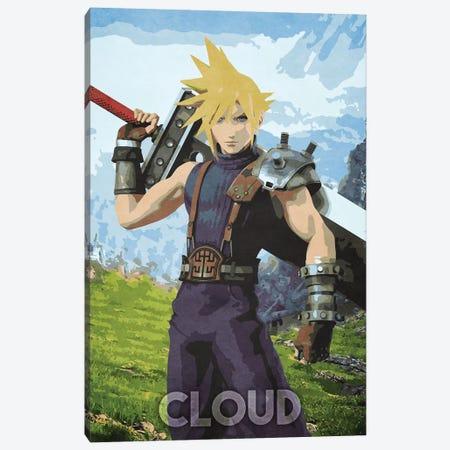 Cloud Canvas Print #DUR334} by Durro Art Canvas Artwork