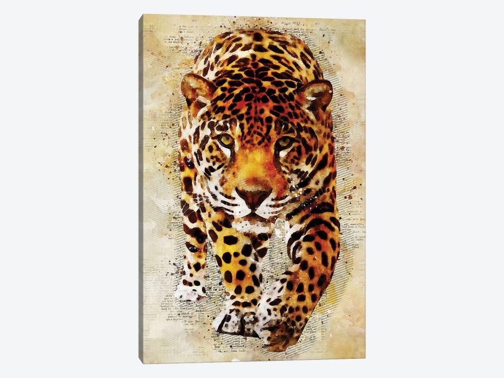 Leopard by Durro Art 1-piece Canvas Art