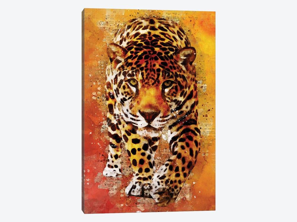 Leopard Wild by Durro Art 1-piece Canvas Print
