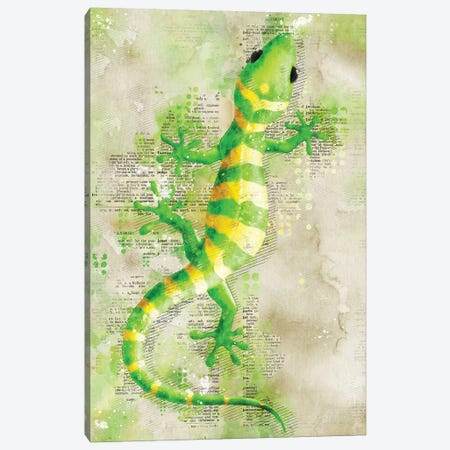 Lizard Canvas Print #DUR352} by Durro Art Art Print