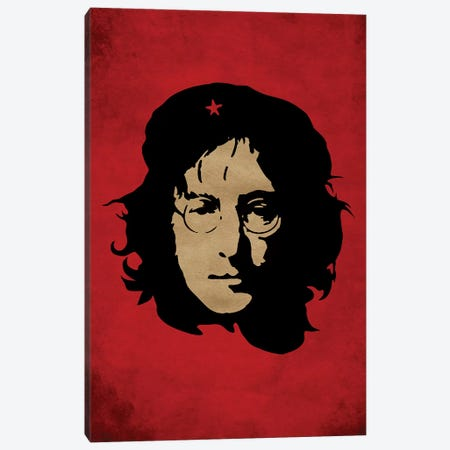 Lennon Che Canvas Print #DUR35} by Durro Art Canvas Artwork