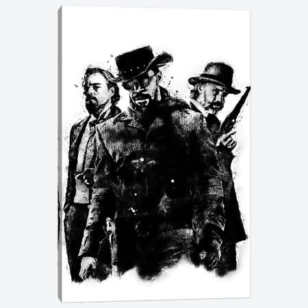 Django Canvas Print #DUR362} by Durro Art Canvas Artwork