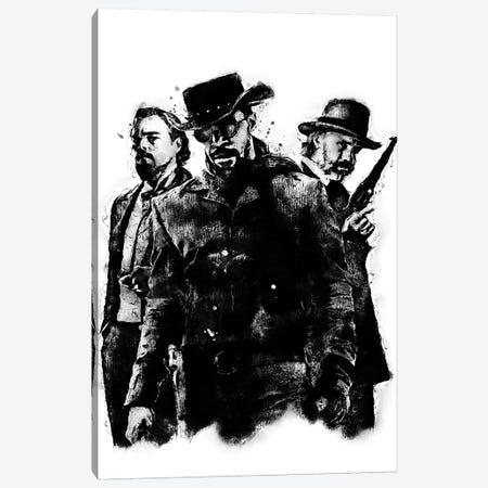 Django Canvas Print #DUR362} by Durro Art Canvas Artwork